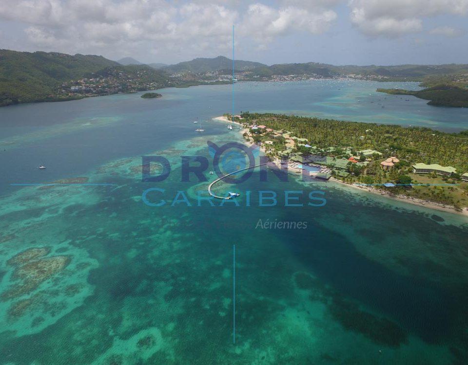Photos aériennes Caraibes